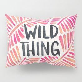 Wild Thing – Pink Ombré & Black Palette Pillow Sham