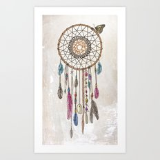 Lakota (Dream Catcher) Art Print