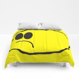 Lonely Meatball - Yellow Comforters