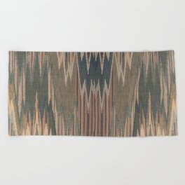 Native Cod Grey Beach Towel