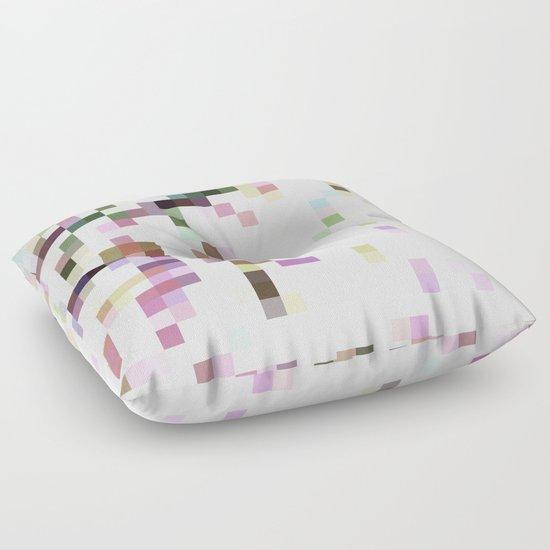 pixelated Floor Pillow