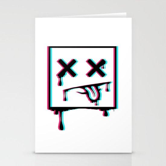 Dead Pixel CMK Stationery Cards