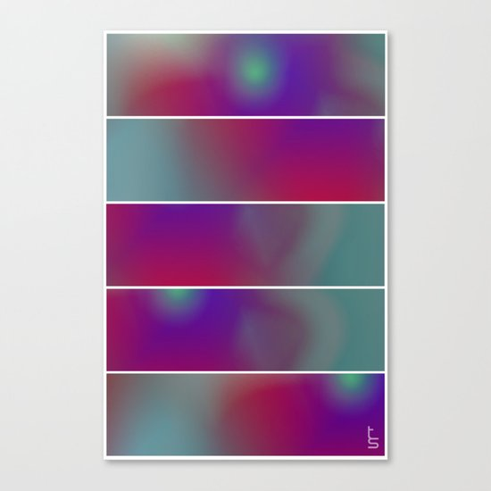 Innerspace (Five Panels Series) Canvas Print