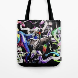Queer Dragons Tote Bag