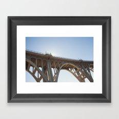 Route 66   Colorado Street Bridge   Pasadena Framed Art Print