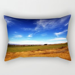Thall Road in a Parallel Dimension Rectangular Pillow