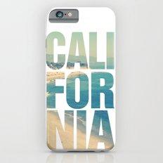 California Vintage Beach Summer Typography iPhone 6 Slim Case