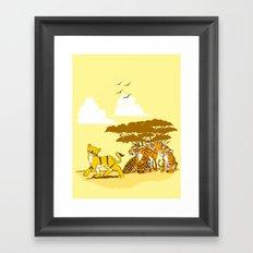 Copy Cat Framed Art Print