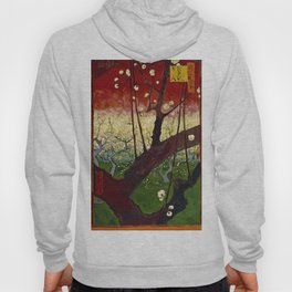 Vincent Van Gogh - Flowering Plum Orchard After Hiroshige Hoody