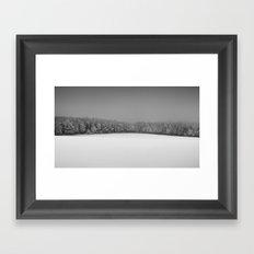 Snowy Silence Framed Art Print