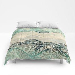 Crash Into Me Comforters