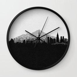 City Skylines: Tokyo Wall Clock