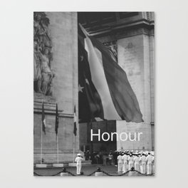 Honour Canvas Print