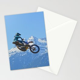 Revelstoke Ride - MotoX Racing in British Columbia Stationery Cards