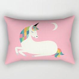 Unicorn Happiness Rectangular Pillow