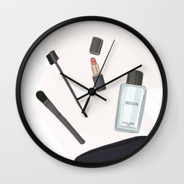 Cometic bag Wall Clock