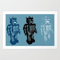 Automaton March Art Print