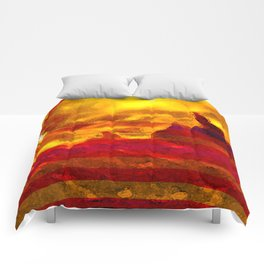 The Red Planet. Comforters