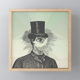 Eyeliner Framed Mini Art Print