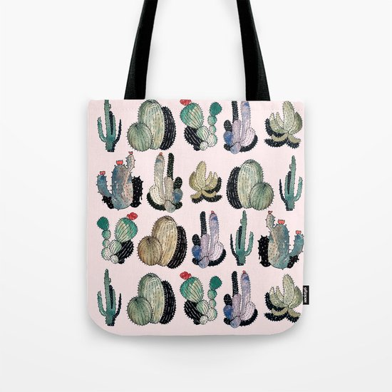 cactus something Tote Bag