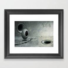 K6-6 Framed Art Print
