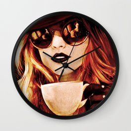 Comfortable Silences - in color Wall Clock