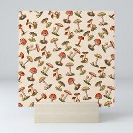 Magical Mushrooms Mini Art Print