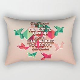 toni morrison  Rectangular Pillow