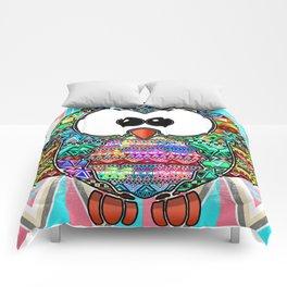 Owl aztec tribal best design  Comforters