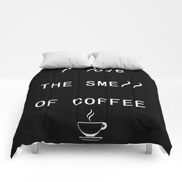 Coffee house smell Comforters