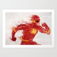Speed Art Print