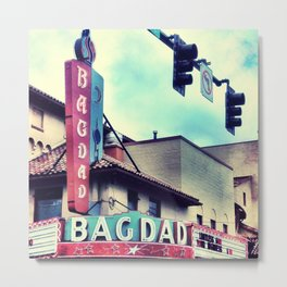 Bagdad Theater Portland, Oregon Metal Print