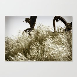 Tall Grass in the Wind Canvas Print
