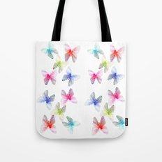 Colorful flowering butterflies. Floral photo art. Tote Bag