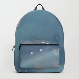Abstract Blue Landscape, Wading Backpack