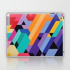 Flat Geometry 01 Laptop & iPad Skin