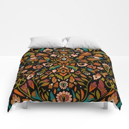 Botanical Print Comforters