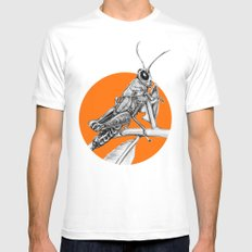 Grasshopper Mens Fitted Tee White MEDIUM