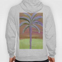 purple palm Hoody