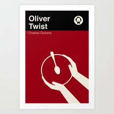 Oliver Twist Art Print