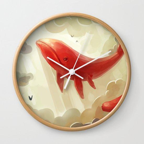 Deep Sky Wall Clock