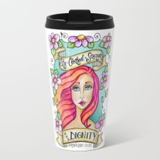 Proverbs 31 Series: She Is Clothed in Strength and Dignity Travel Mug