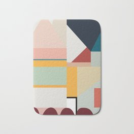modern abstract II Bath Mat