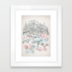 Old Town Bikes Framed Art Print