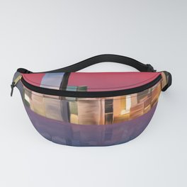 Miami Sunset Fanny Pack
