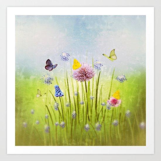 Fruehling - Spring Art Print