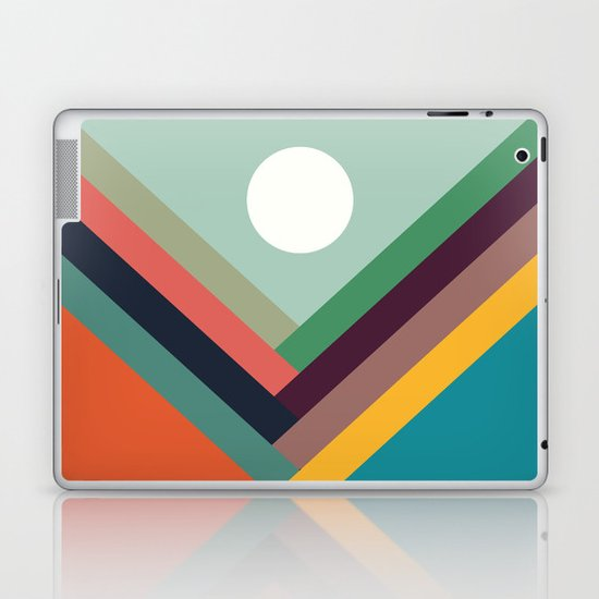 Rows of valleys Laptop & iPad Skin