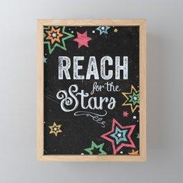 Reach For the Stars Framed Mini Art Print