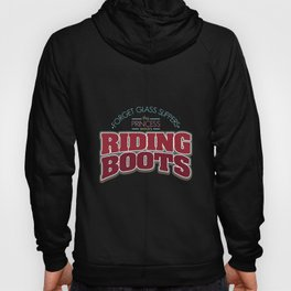 Girl Is Wearing Riding Boots design | Horsewoman Rider Tee Hoody