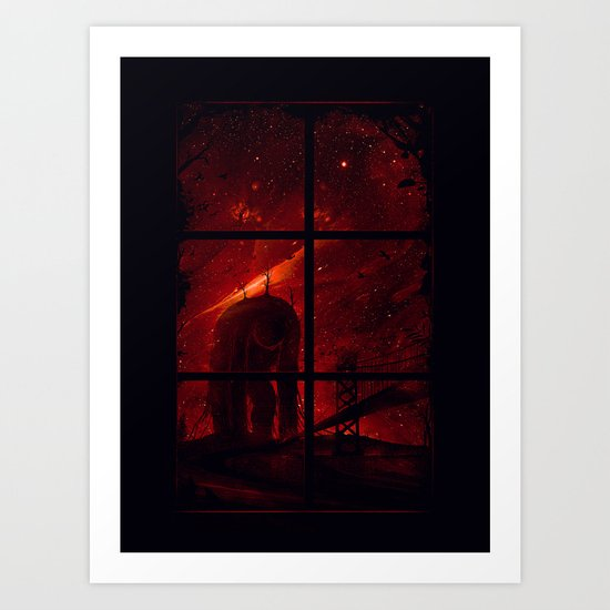 The Otherside Art Print